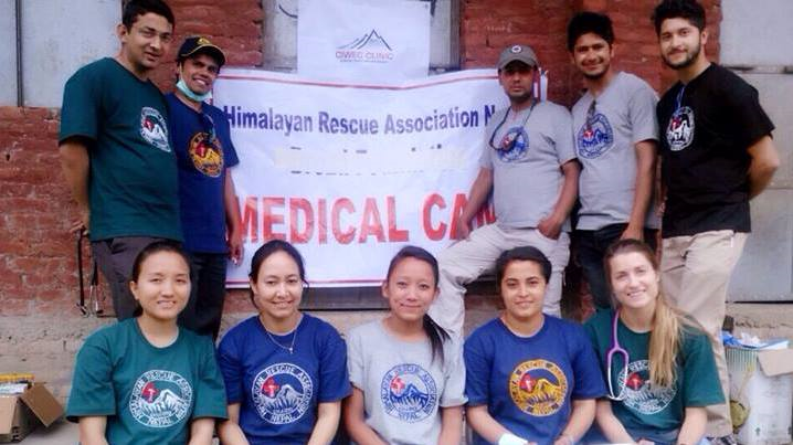 Conducted a one day health camp at Gundu VDC in Bhaktapur on 15 May, 2015 for the earthquake survivors together with Himalayan Rescue Association (HRA).