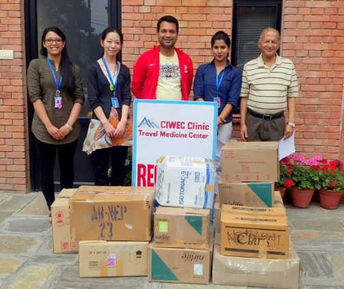 Donated medical supplies to Health at Home Foundation to assist in the medical aid being provided to the injured survivors.