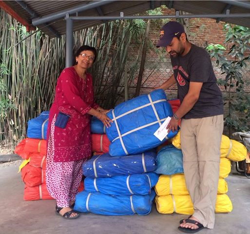 Donated 150 tarpaulins to Health at Home Foundation/Operation Relief.